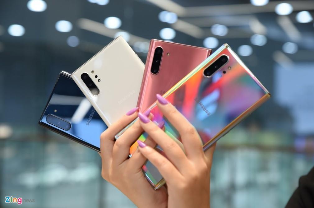 Gia Galaxy Note 10 tai Viet Nam anh 2
