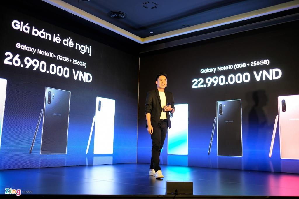 Gia Galaxy Note 10 tai Viet Nam anh 3