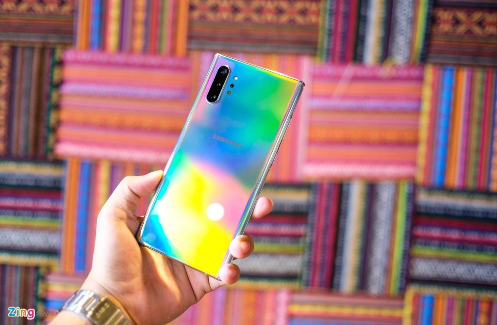 Galaxy Note10+ 5G tai VN - cau hinh manh nhat, gia 20 trieu dong hinh anh 4