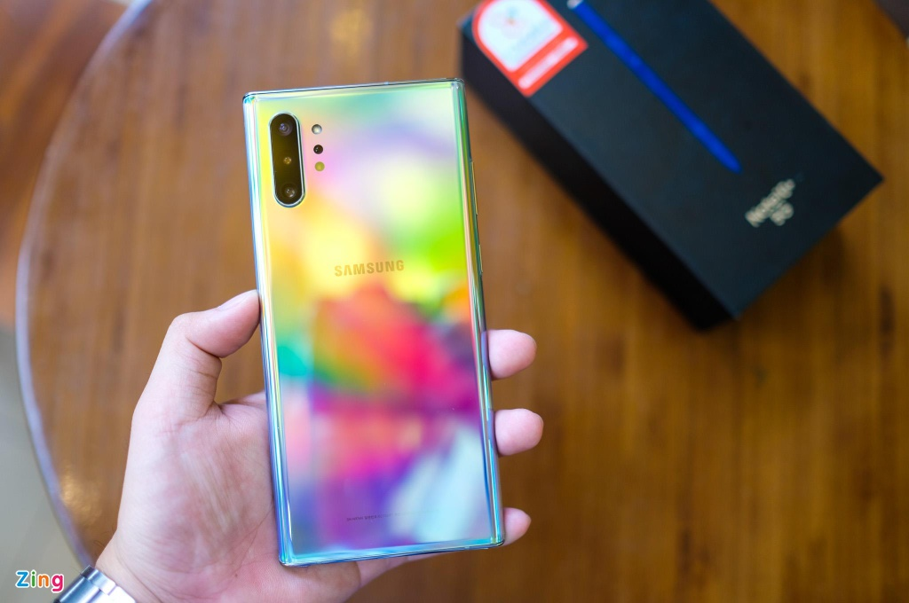 Galaxy Note10+ 5G tai VN - cau hinh manh nhat, gia 20 trieu dong hinh anh 2