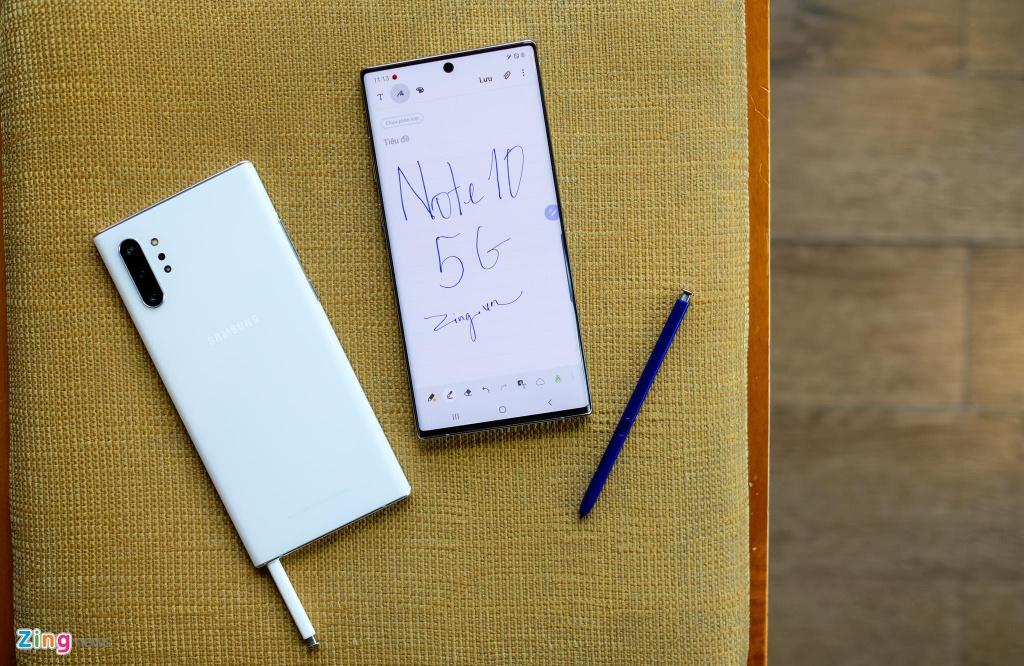 Galaxy Note10+ 5G tai VN - cau hinh manh nhat, gia 20 trieu dong hinh anh 3