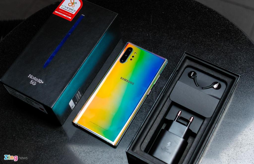 Galaxy Note10+ 5G tai VN - cau hinh manh nhat, gia 20 trieu dong hinh anh 1