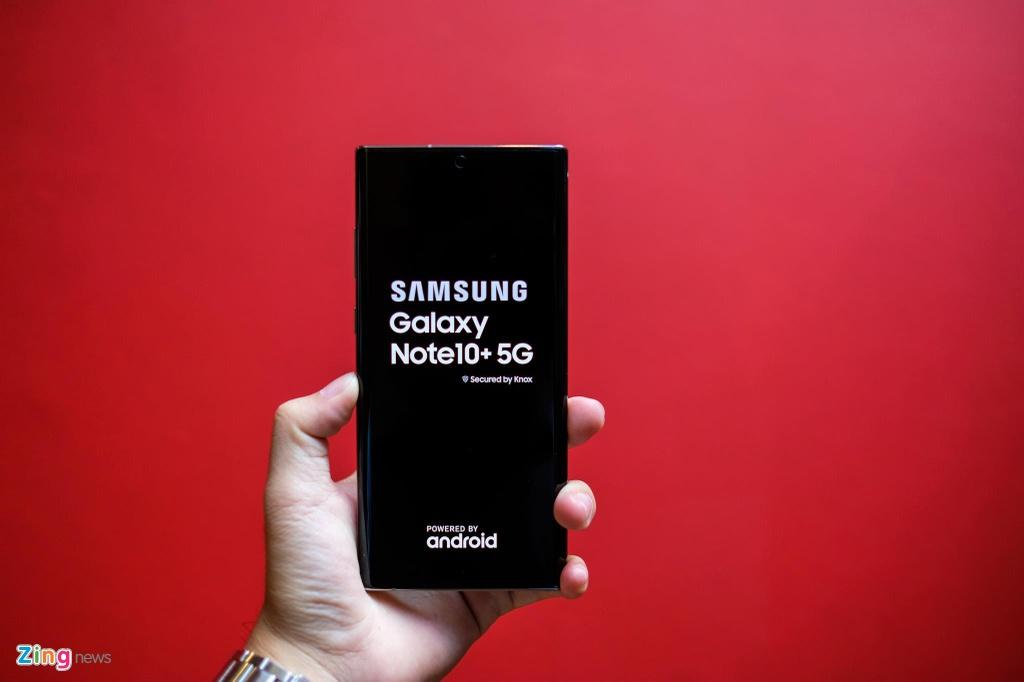 Galaxy Note10+ 5G tai VN - cau hinh manh nhat, gia 20 trieu dong hinh anh 5