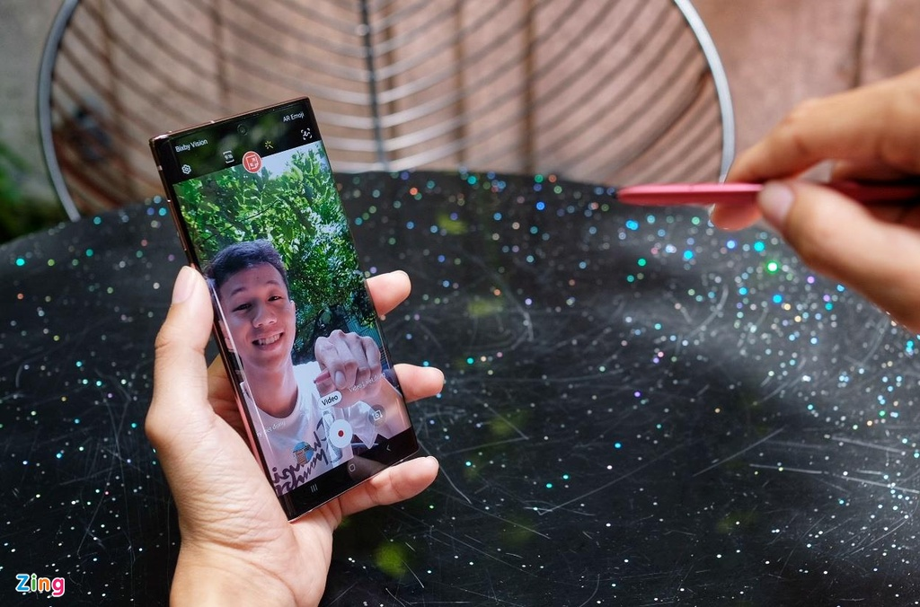 Trai nghiem Galaxy Note10+ anh 4