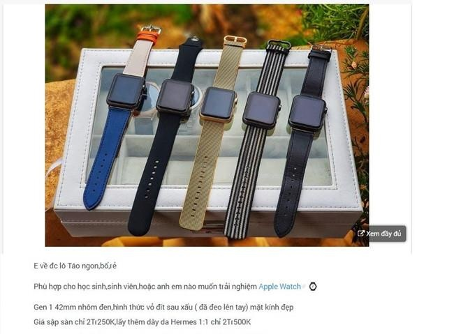 iPod, Apple Watch gia re tran ve VN hinh anh 3