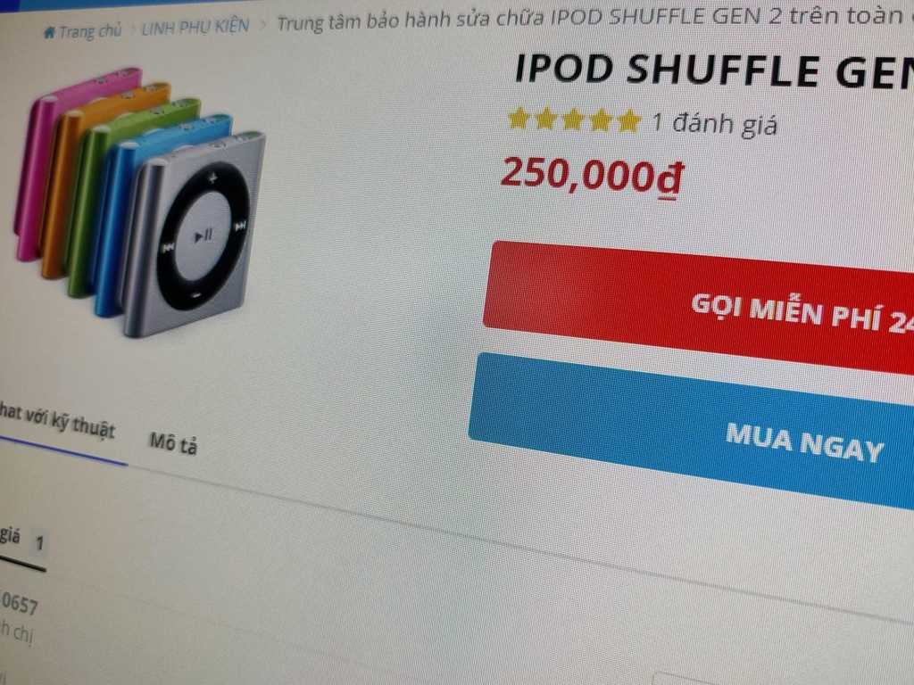 iPod, Apple Watch gia re tran ve VN hinh anh 1