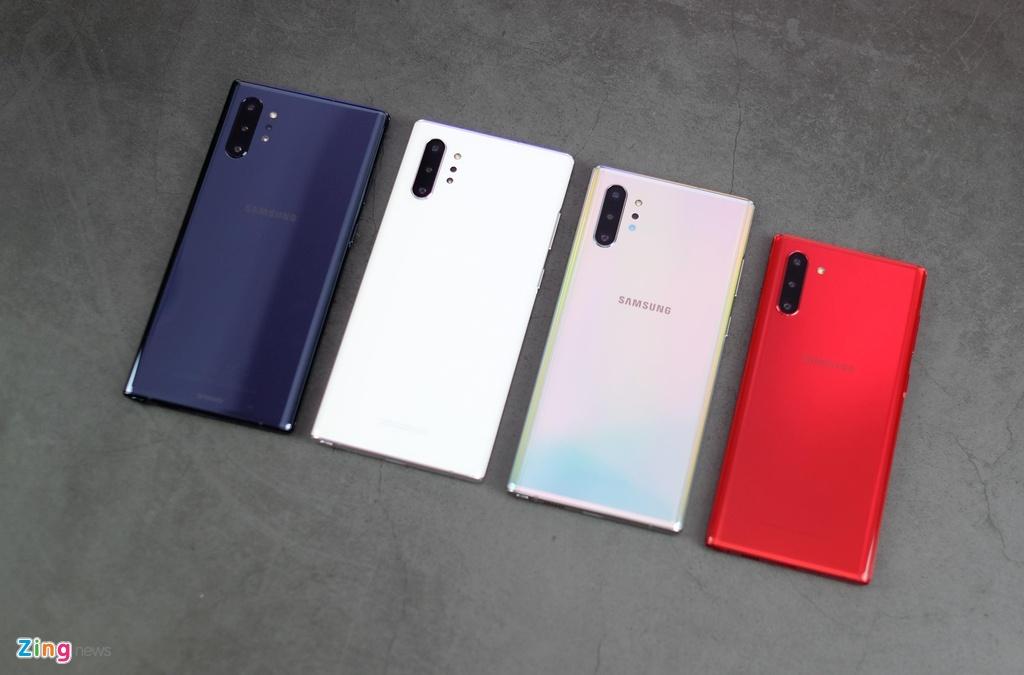 trai nghiem Galaxy Note10 do anh 2