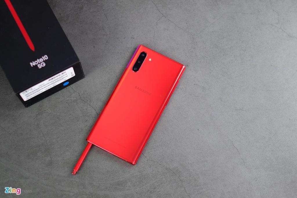 trai nghiem Galaxy Note10 do anh 9