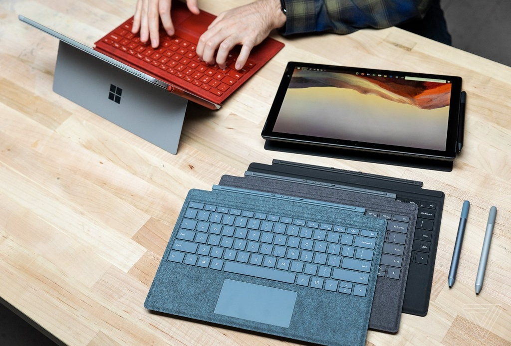 Chi tiet Surface Pro X, tablet lai laptop gia 999 USD, de doa iPad Pro hinh anh 7
