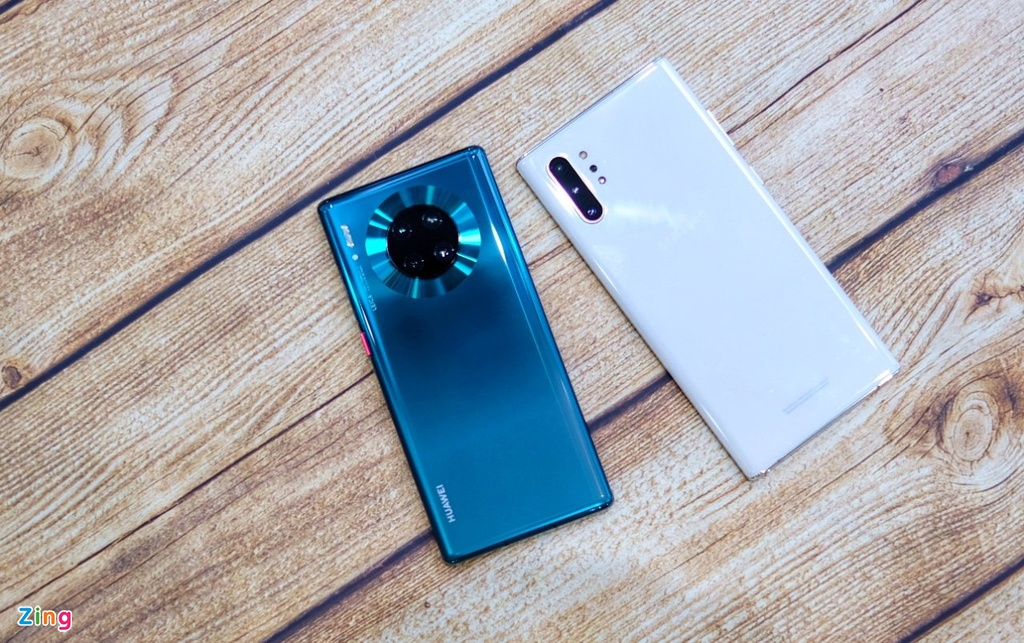 so sanh Huawei Mate 30 Pro voi Galaxy Note10+ anh 1