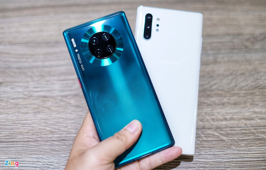 so sanh Huawei Mate 30 Pro voi Galaxy Note10+ anh 2