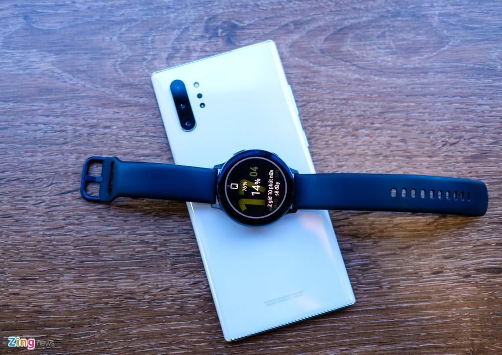 trai nghiem Galaxy Watch Active 2 anh 12