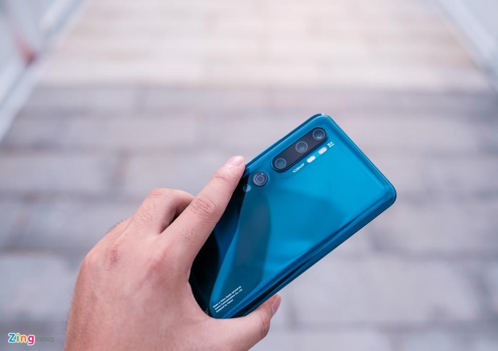 Trai nghiem Xiaomi Mi Note 10 anh 3