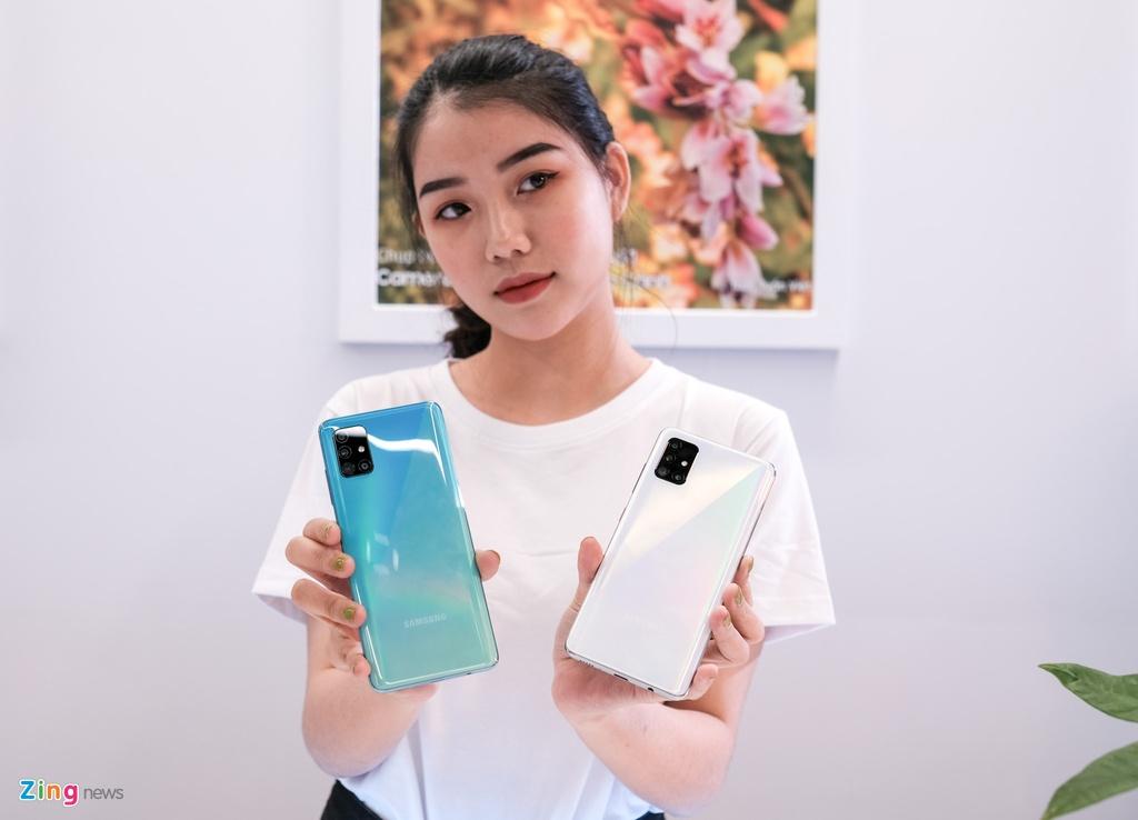 Samsung Galaxy A51 ra mat o VN - tran vien, 4 camera, gia 8 trieu hinh anh 11 Galaxy_A51_zing_(13).jpg