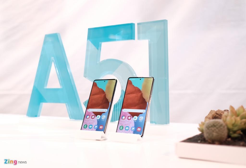 Samsung Galaxy A51 ra mat o VN - tran vien, 4 camera, gia 8 trieu hinh anh 2 Galaxy_A51_zing_(23).jpg
