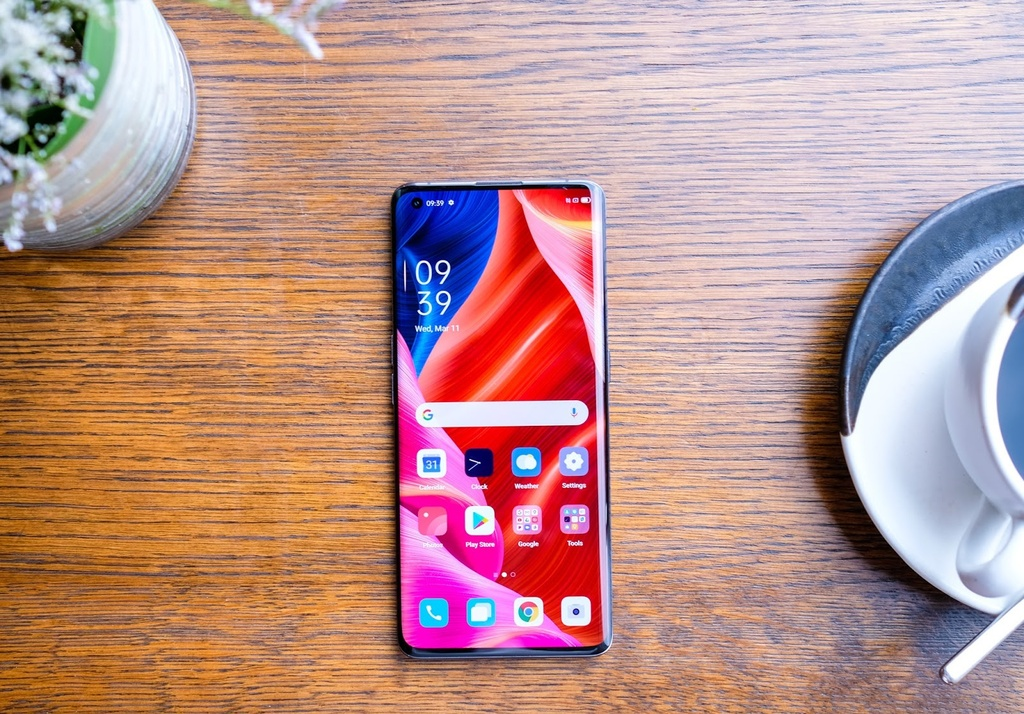 Chi tiet Oppo Find X2 anh 2