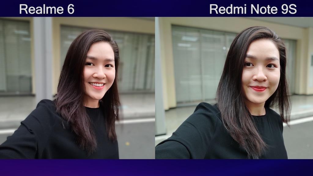 So sanh Redmi Note 9S voi Realme 6 anh 6