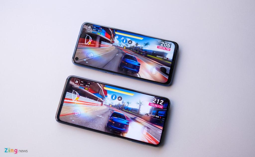 So sanh Redmi Note 9S voi Realme 6 anh 8
