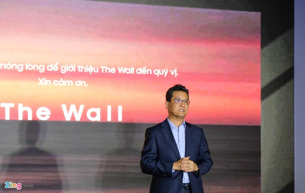 TV The Wall giá hơn 9 tỷ đồng về Việt Nam