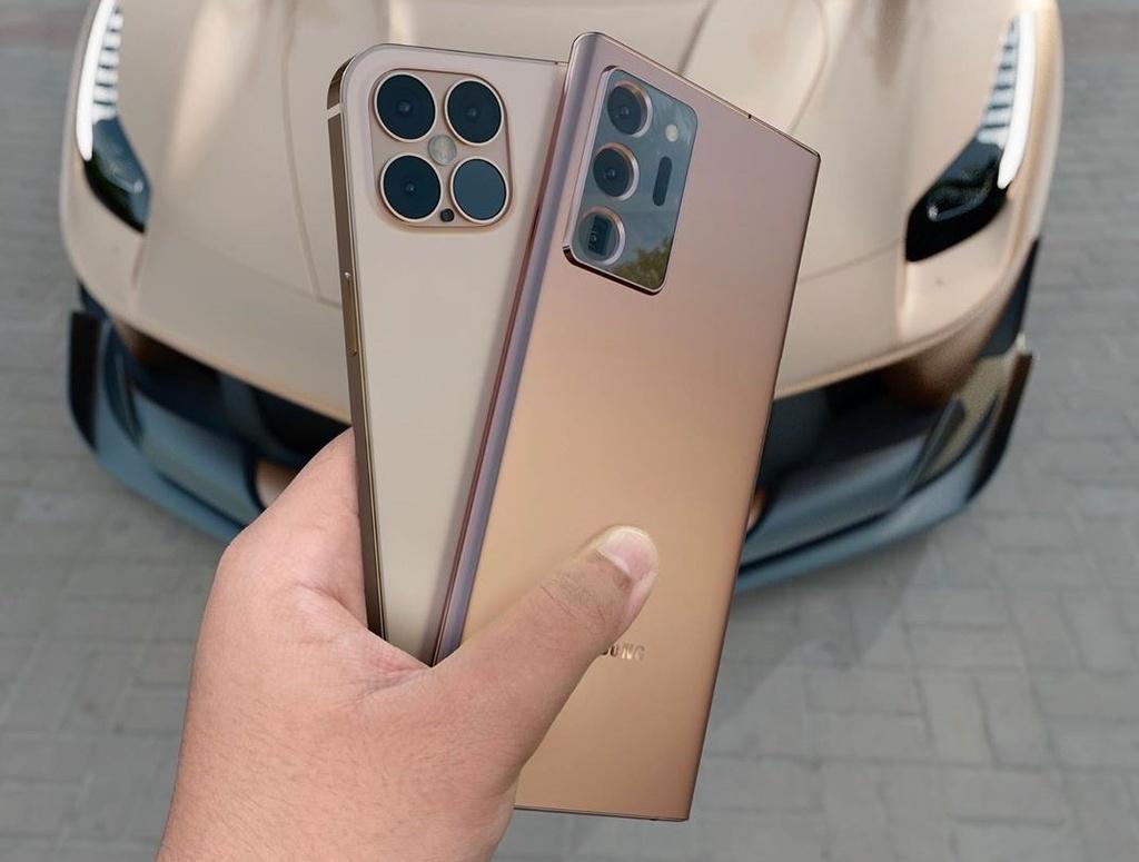 iPhone 12 Pro doi dau voi Galaxy Note20 Ultra anh 2