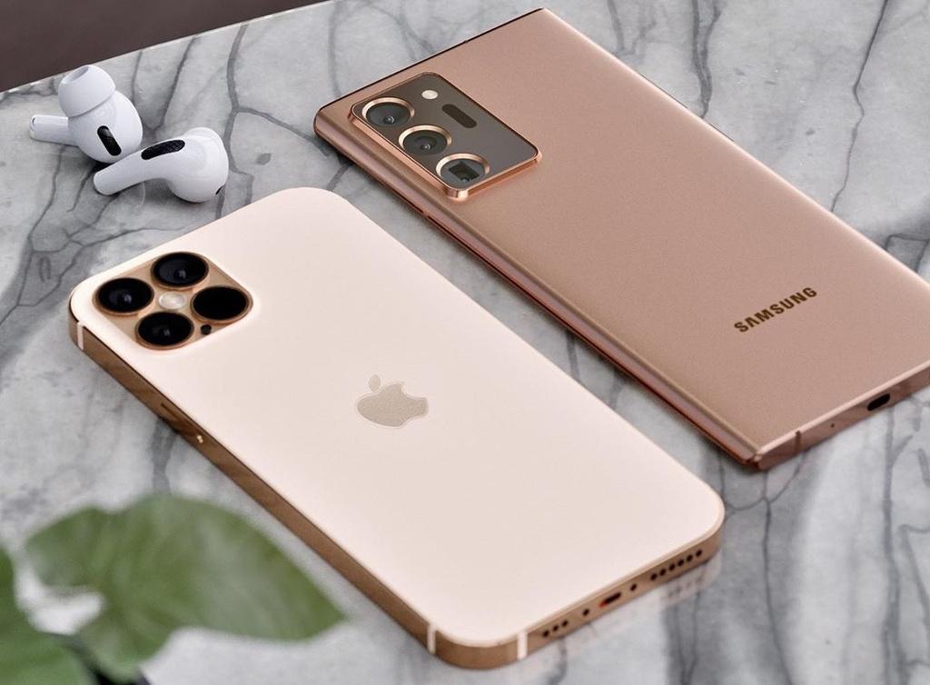 iPhone 12 Pro doi dau voi Galaxy Note20 Ultra anh 1