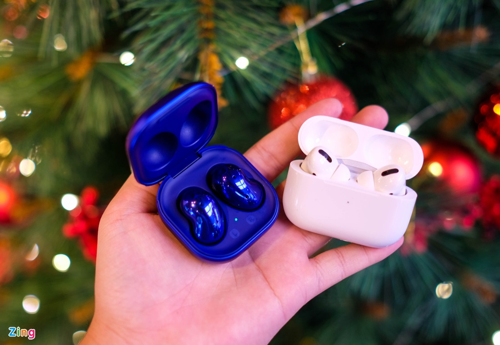 AirPods Pro voi Galaxy Buds Live anh 11