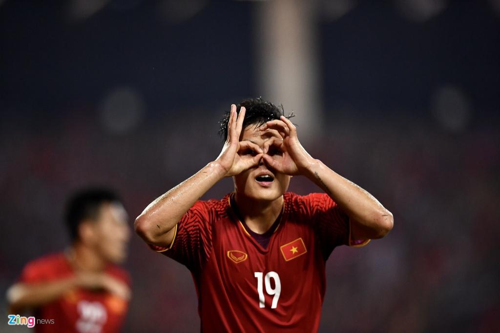 Quang Hai,  Xuan Truong,  Malaysia,  chung ket AFF Cup 2018 anh 3