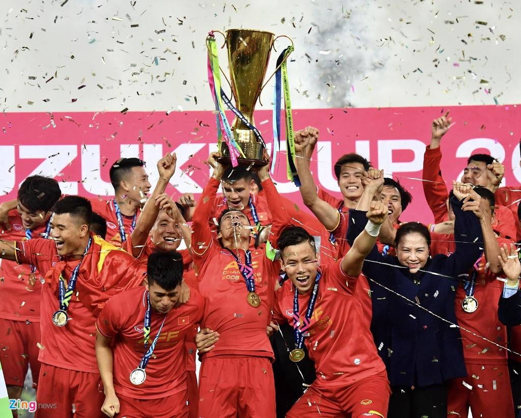 Doi tuyen Viet Nam,  AFF Cup 2018,  Asian Cup 2019, anh 1