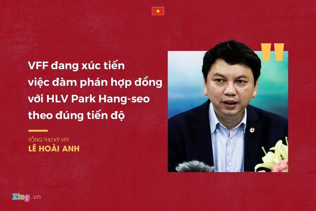 VFF noi gi ve viec gia han hop dong voi thay Park anh 3