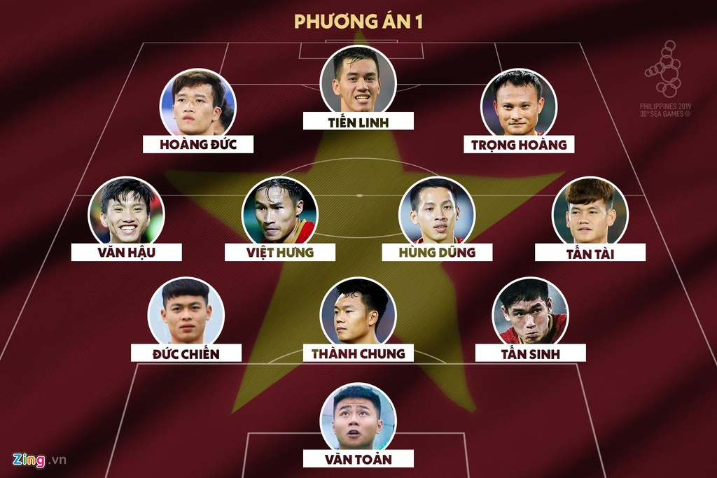 HLV Park co nen su dung Tien Linh va Duc Chinh cung luc? hinh anh 1