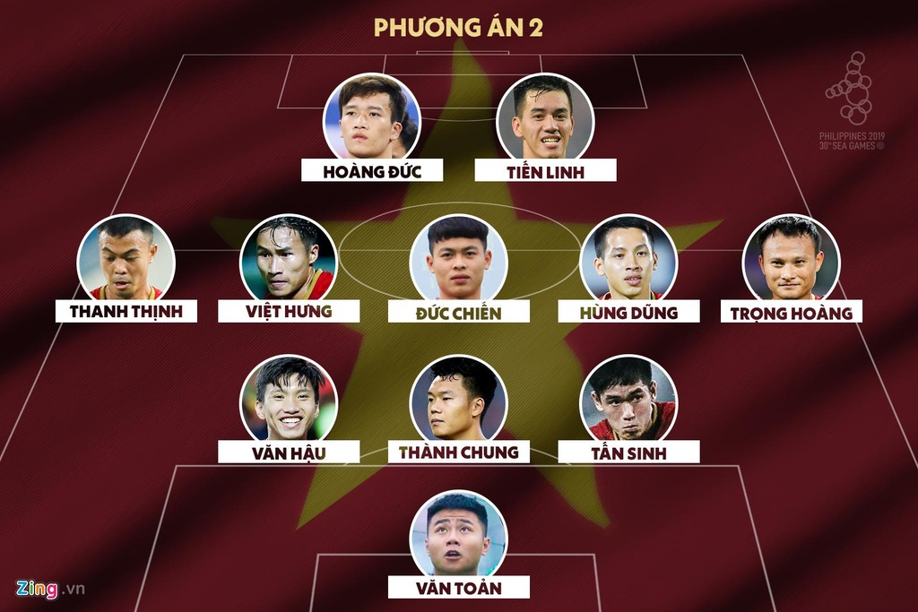 HLV Park co nen su dung Tien Linh va Duc Chinh cung luc? hinh anh 2