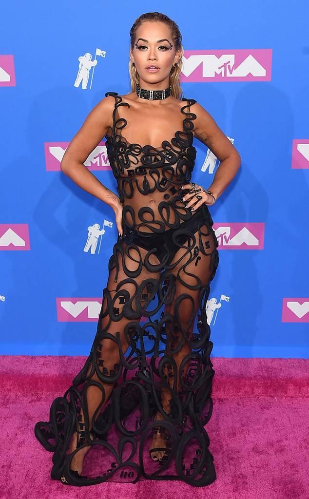 Dan sao long lay tren tham do MTV Video Music Awards 2018 hinh anh 6
