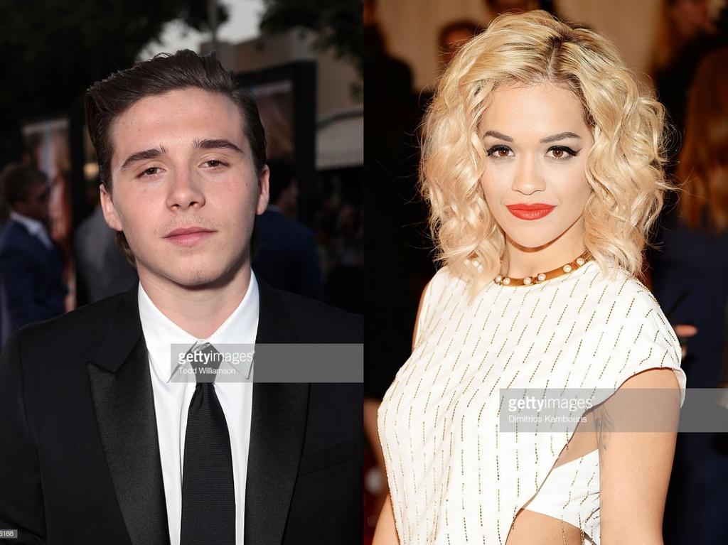 Brooklyn Beckham hen ho Rita Ora anh 1