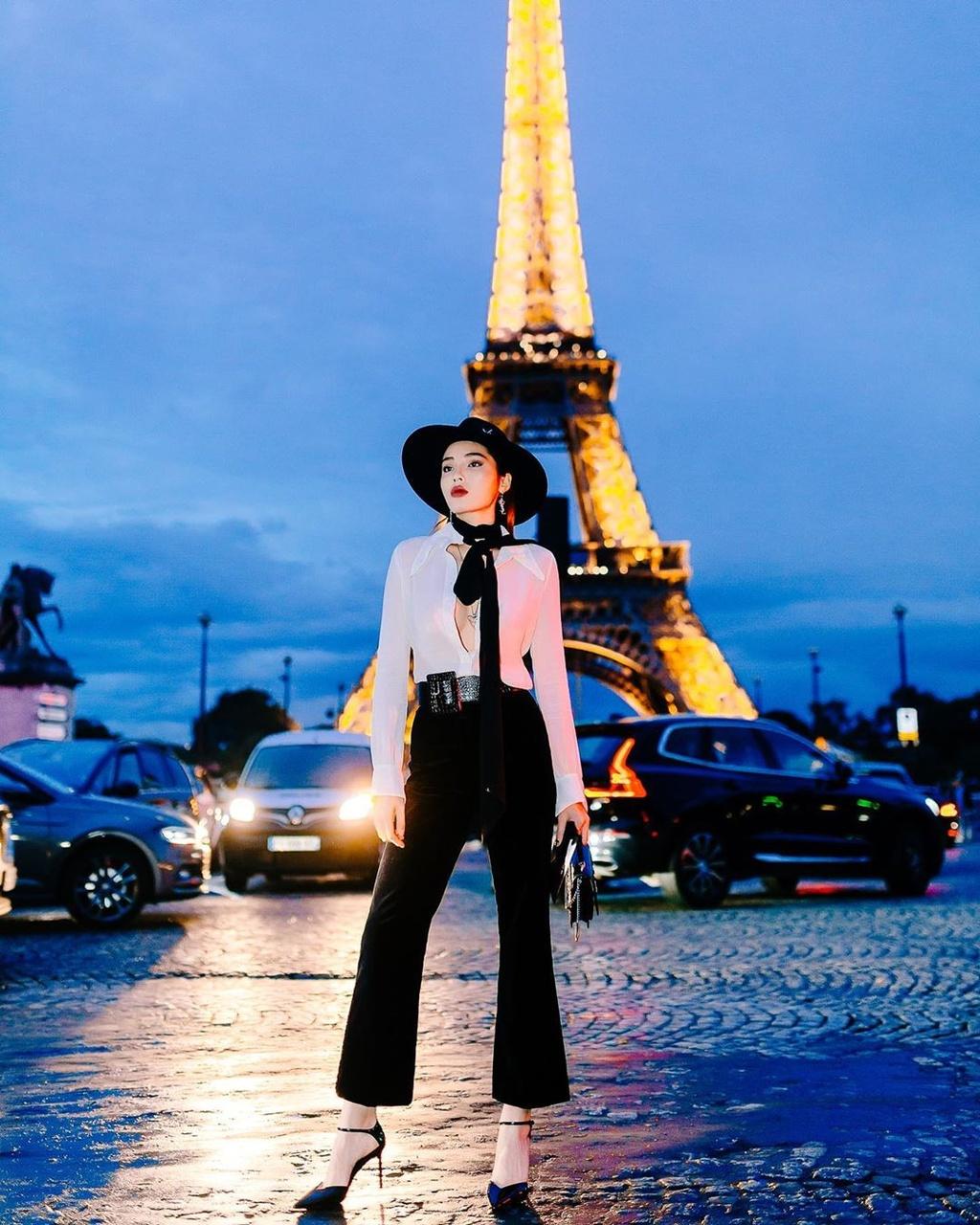 Ky Duyen du Tuan le thoi trang Paris anh 2