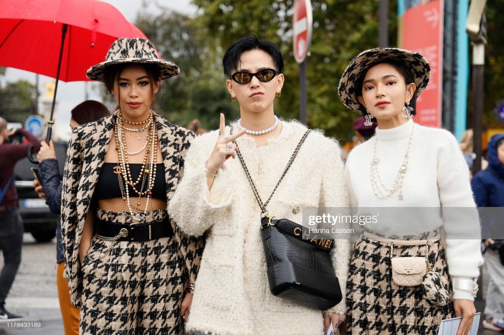 Chau Bui va ban trai Decao phu hang hieu du show thoi trang quoc te hinh anh 1