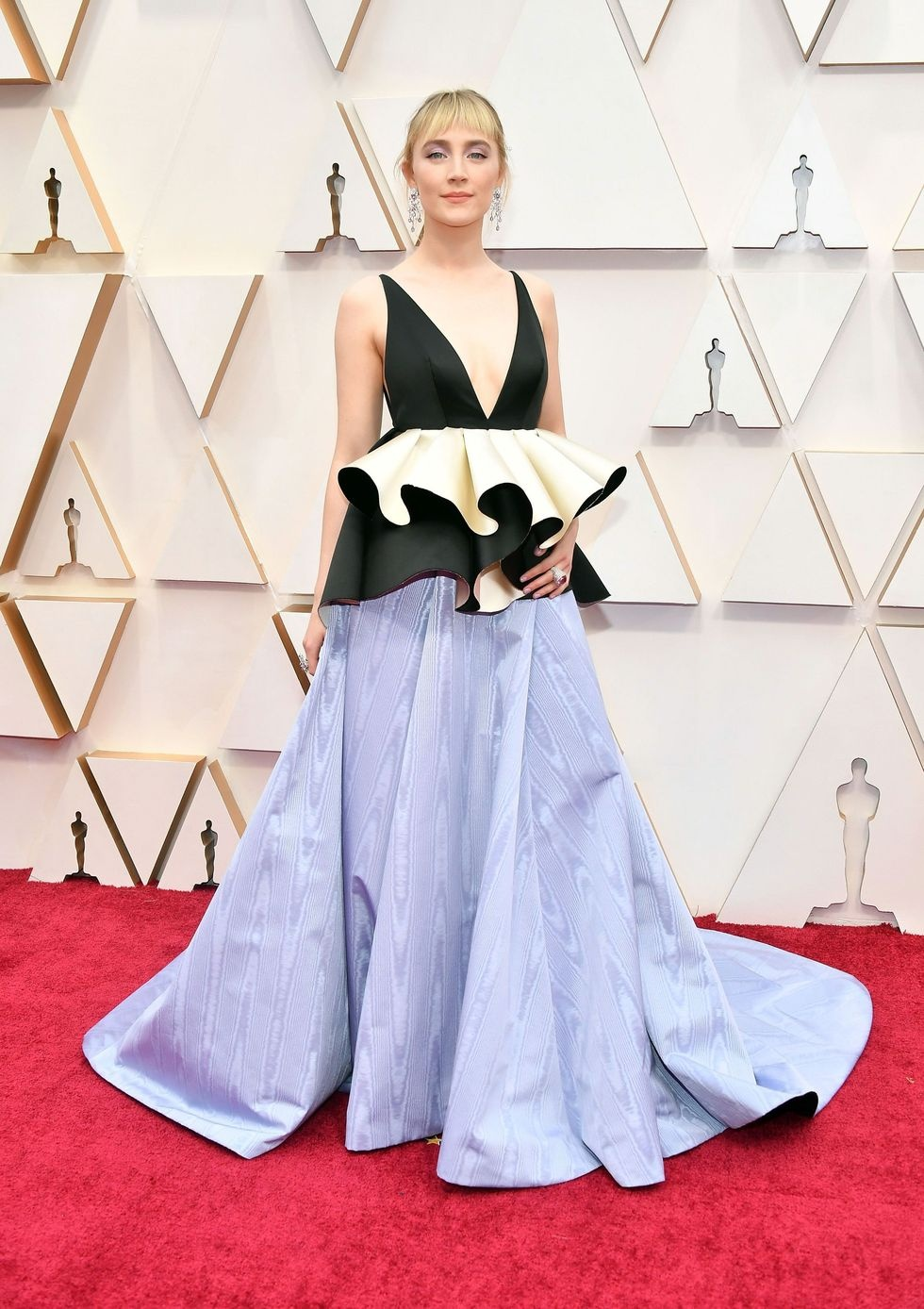 Sao nu mac dep tren tham do Oscar 2020 hinh anh 1 gettyimages_1205139703.jpg