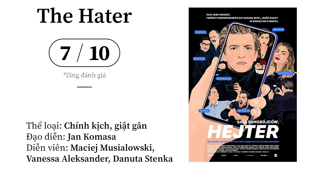 review phim The Hater (2020) anh 1