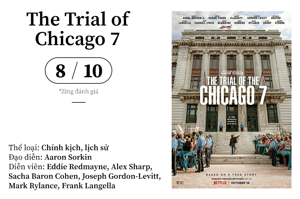 "review ""The Trial of Chicago 7"" anh 1"