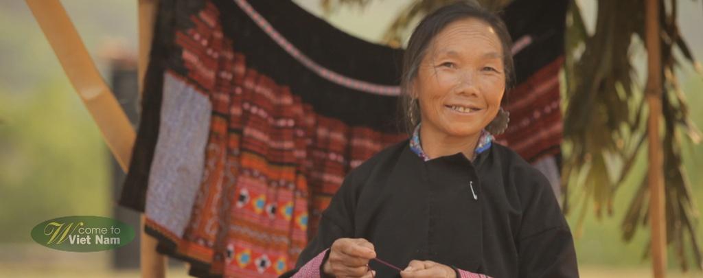 Nhung hinh anh khien du khach muon toi Viet Nam hinh anh 13 Nụ cười hồn hậu của người dân miền sơn cước.