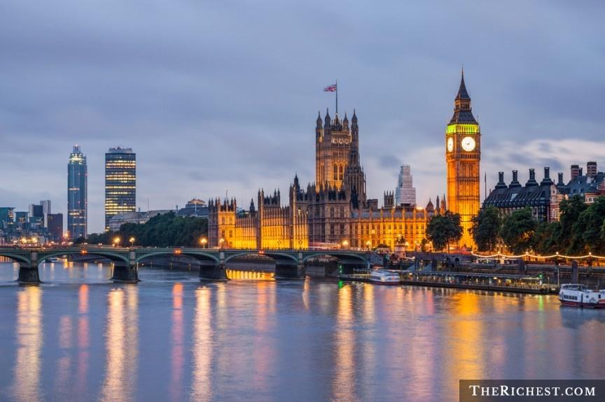 10 quoc gia ly tuong cho cac chang doc than hinh anh 4 London, Anh: London có lịch sử lâu đời, đồ ăn ngon và không khí cổ điển, với những khu vườn tuyệt đẹp và cuộc sống về đêm đang dần trở nên nhộn nhịp hơn. Nếu bạn đang tìm kiếm một nơi để bắt đầu một mối tình lãng mạn thì không nên bỏ qua thủ đô nước Anh.
