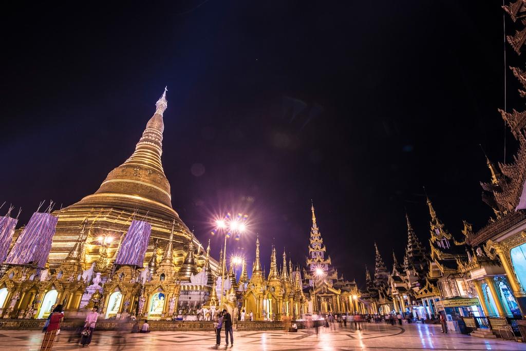 Nhung buc anh cuon hut du khach toi dat Phat Myanmar hinh anh 1