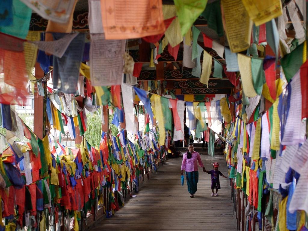 Hinh anh quoc gia Phat giao Bhutan thanh binh hinh anh 1