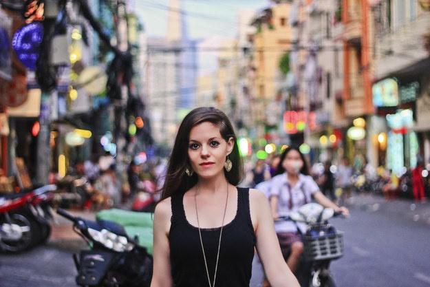 Blogger du lich me bun rieu, banh cuon Viet hinh anh 1
