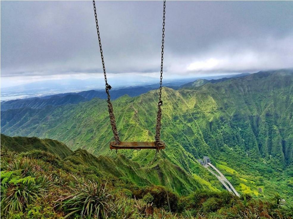 Xich du dang so tren tuyen duong nguy hiem nhat Hawaii hinh anh 4