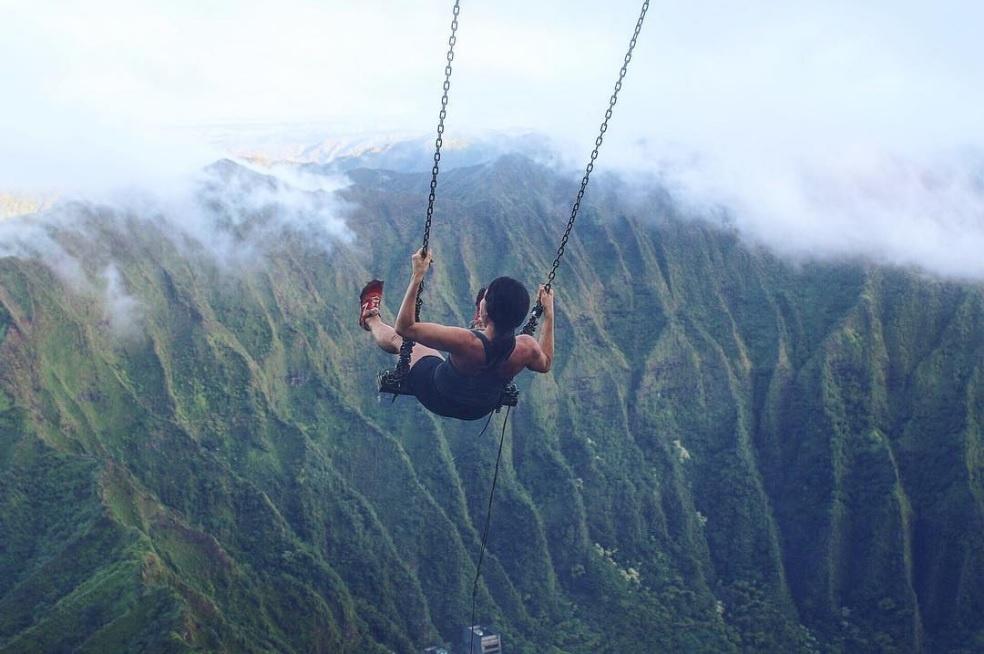 Xich du dang so tren tuyen duong nguy hiem nhat Hawaii hinh anh 9