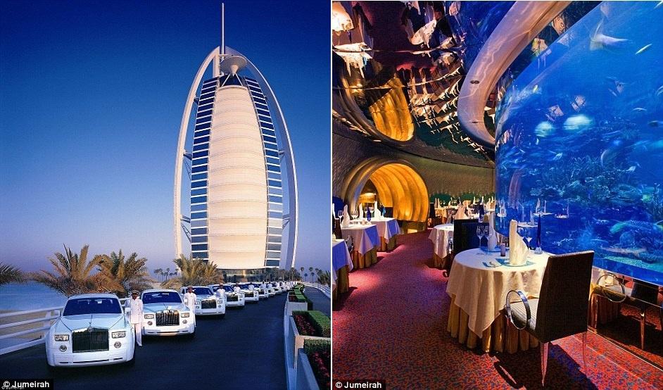 Ben trong khach san Dubai 7 sao 'quyen luc' nhat mang xa hoi hinh anh 4