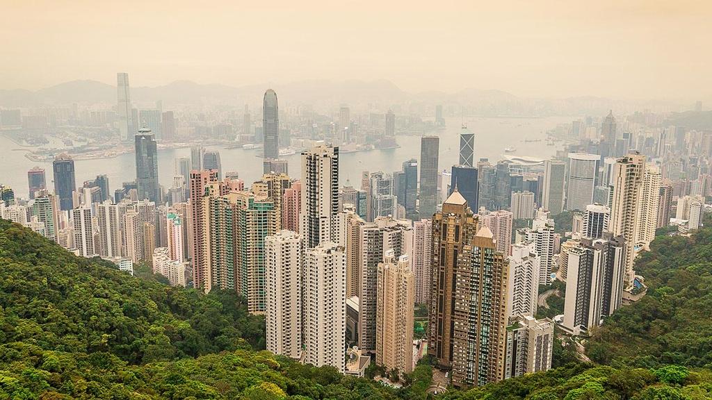 Bi mat phong thuy trong cac cao oc Hong Kong hinh anh 1