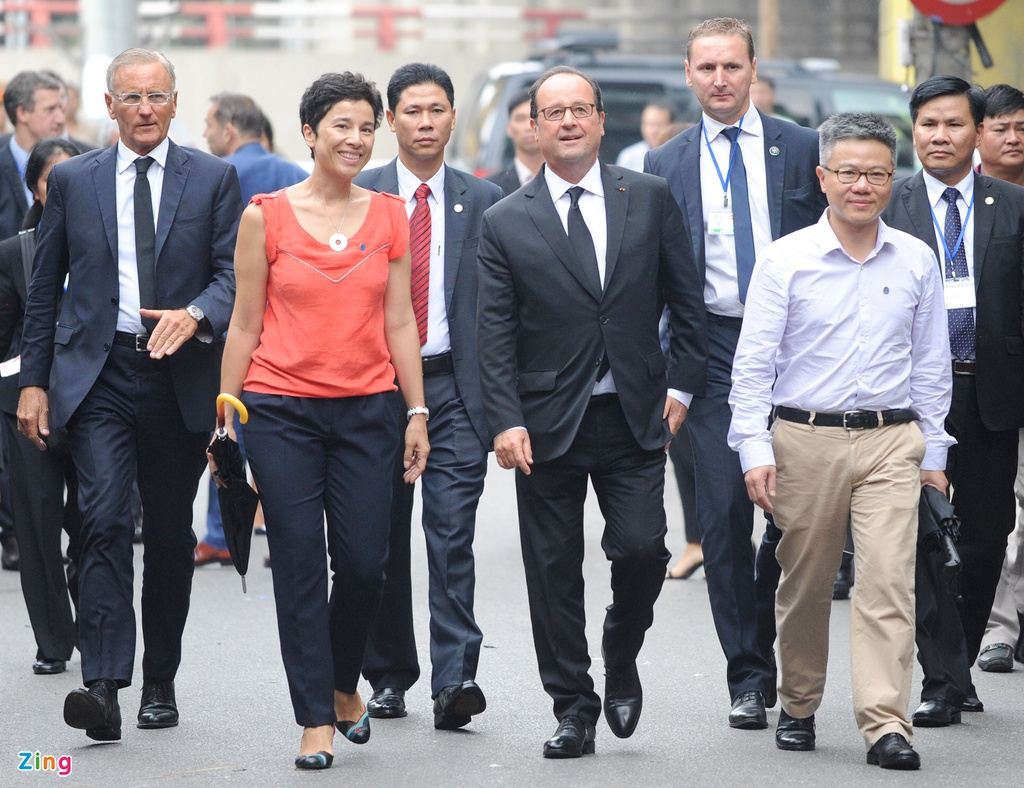 Tong thong Phap Francois Hollande tham Viet Nam anh 12