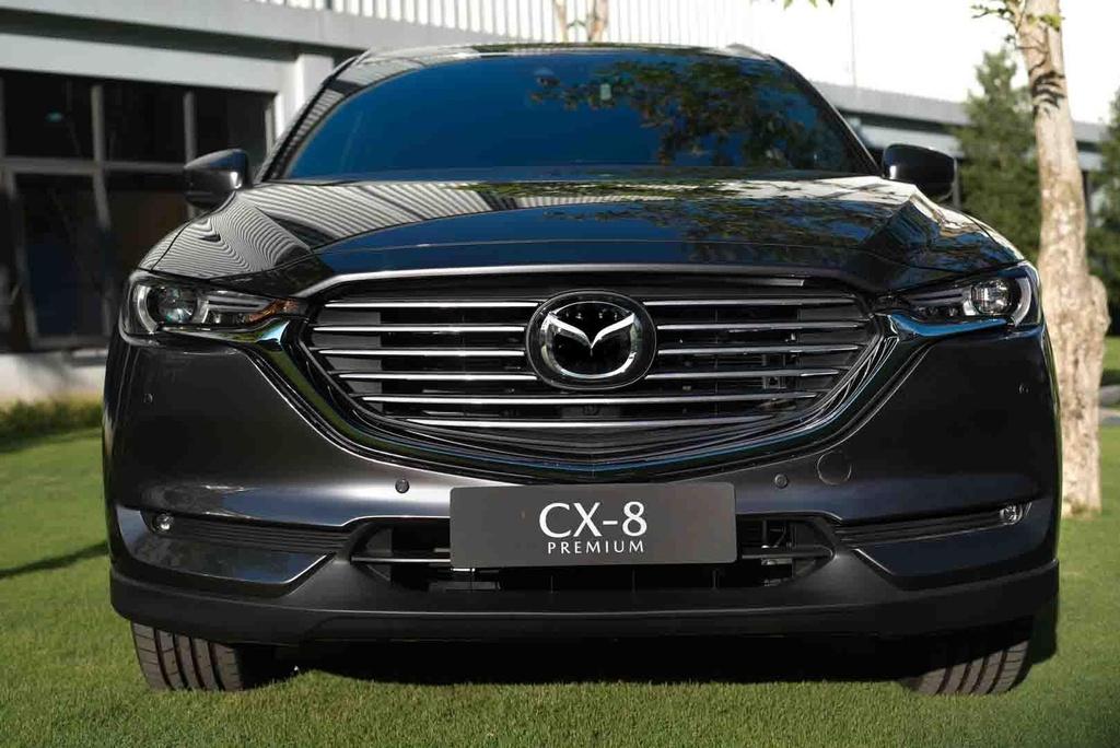 Mazda CX-8 2019 vs Hyundai Santa Fe 2019: Ve hien lanh doi dau ca tinh hinh anh 7