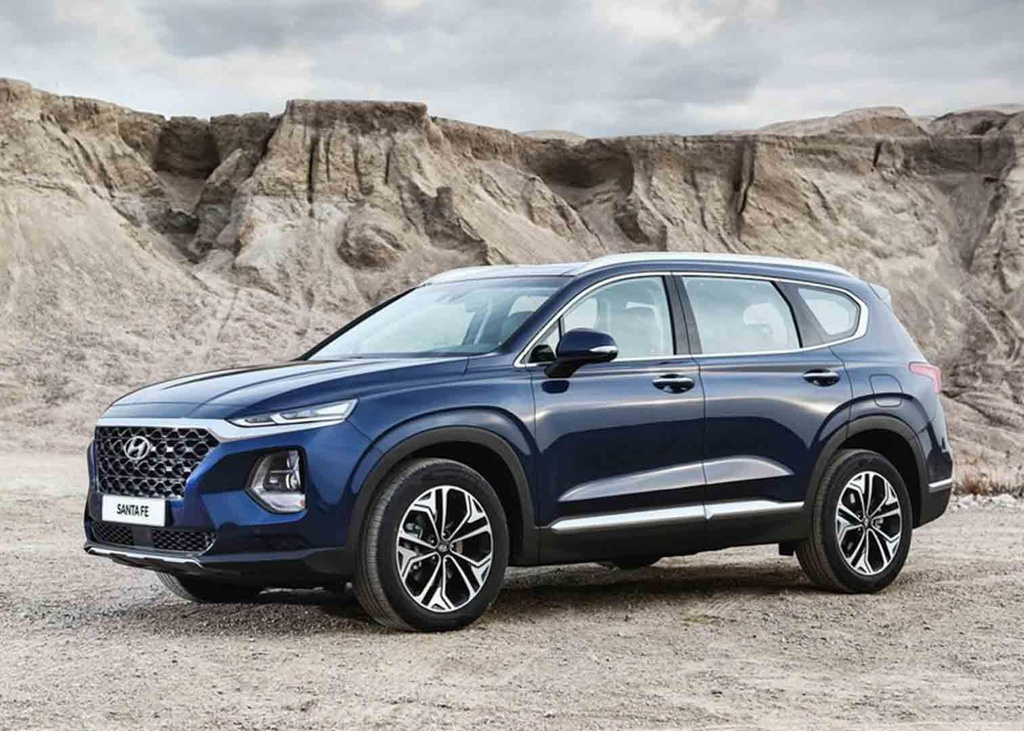 Mazda CX-8 2019 vs Hyundai Santa Fe 2019: Ve hien lanh doi dau ca tinh hinh anh 2